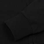 Мужская толстовка C.P. Company Diagonal Fleece Goggle Zip Hoodie Caviar фото- 4