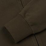 Мужская толстовка C.P. Company Diagonal Fleece Goggle Zip Hoodie Moss фото- 4