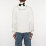 Мужская толстовка C.P. Company Diagonal Fleece Goggle Zip Hoodie Tapioca фото- 7