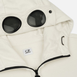Мужская толстовка C.P. Company Diagonal Fleece Goggle Zip Hoodie Tapioca фото- 2