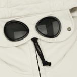 Мужская толстовка C.P. Company Diagonal Fleece Goggle Zip Hoodie Tapioca фото- 3
