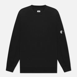Мужская толстовка C.P. Company Diagonal Fleece Lens Crew Black