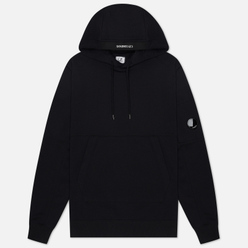 Мужская толстовка C.P. Company Diagonal Fleece Lens Hooded Black