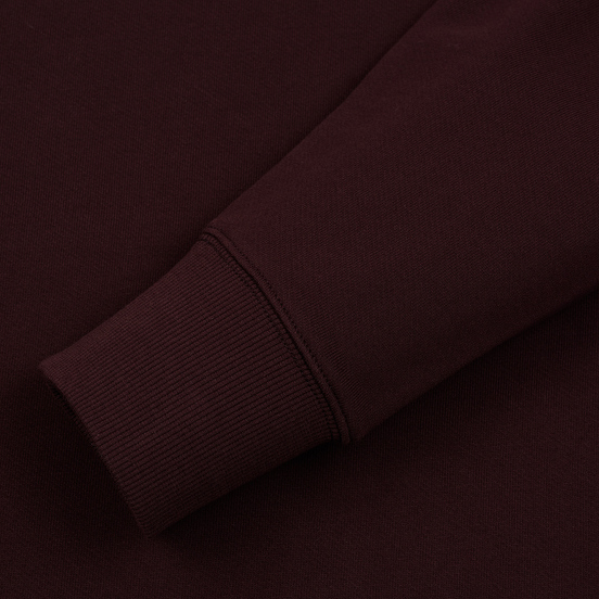 Мужская толстовка C.P. Company Diagonal Raised Fleece Chest Logo Bitter Chocolate
