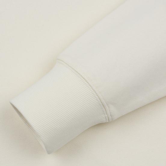 Мужская толстовка C.P. Company Diagonal Raised Fleece Chest Logo Gauze White