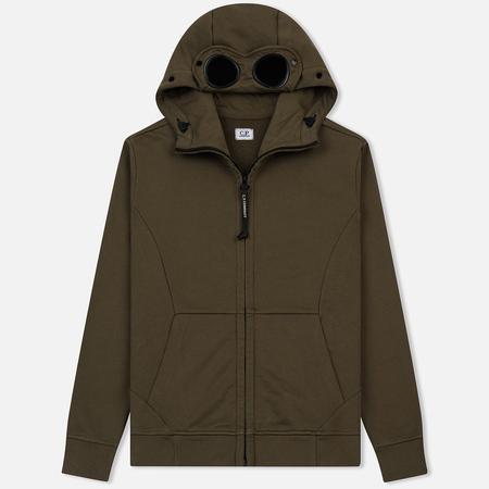 Мужская толстовка C.P. Company Diagonal Fleece Goggle Beech