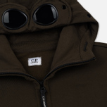 Мужская толстовка C.P. Company Diagonal Raised Fleece Goggle Full Zip Cloudburst фото- 1