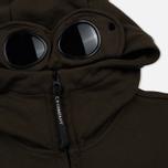 Мужская толстовка C.P. Company Diagonal Raised Fleece Goggle Full Zip Cloudburst фото- 2