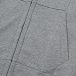 Мужская толстовка C.P. Company Diagonal Raised Fleece Goggle Full Zip Grey Melange фото- 3