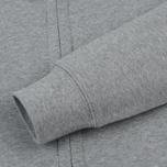 Мужская толстовка C.P. Company Diagonal Raised Fleece Goggle Full Zip Grey Melange фото- 4