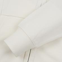 Мужская толстовка C.P. Company Diagonal Raised Fleece Goggle Full Zip Hoodie Gauze White фото- 4