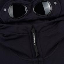 Мужская толстовка C.P. Company Diagonal Raised Fleece Goggle Full Zip Total Eclipse фото- 2