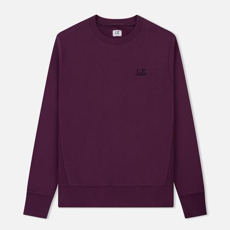 Мужская толстовка C.P. Company Diagonal Raised Fleece Plain Crew Gloxinia Purple