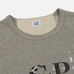 Мужская толстовка C.P. Company Digital Print Logo Grey Melange фото- 1