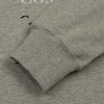 Мужская толстовка C.P. Company Digital Print Logo Grey Melange фото- 3