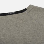 Мужская толстовка C.P. Company Digital Print Logo Grey Melange фото- 4
