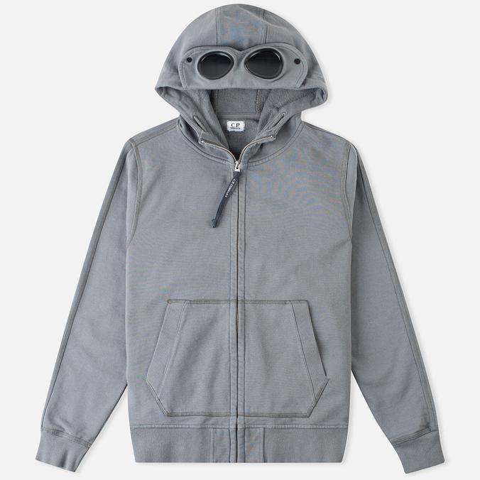 Мужская толстовка C.P. Company Felpa Aperta Goggle Grey