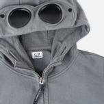 Мужская толстовка C.P. Company Felpa Aperta Goggle Grey фото- 1