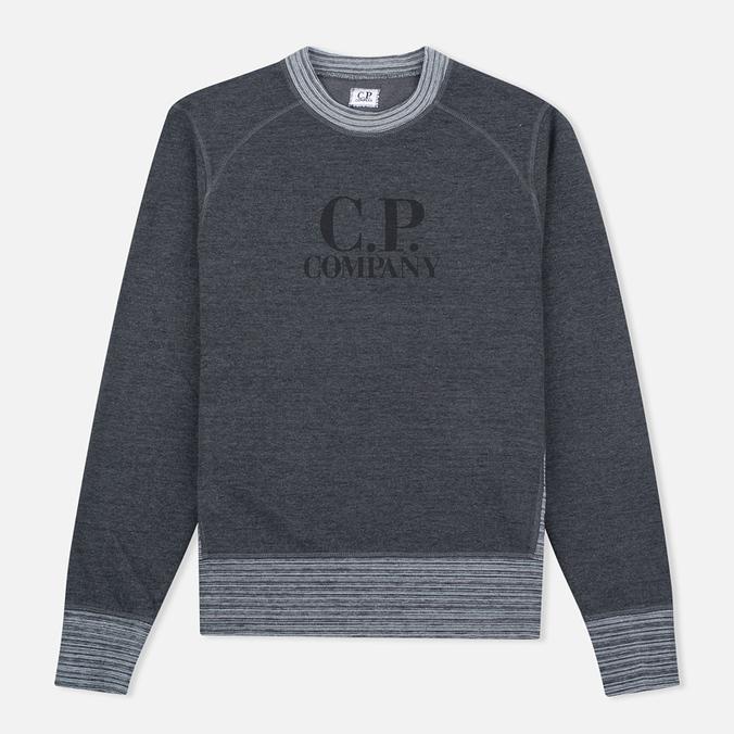 Мужская толстовка C.P. Company Felpa Crew Neck Grey