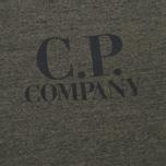 Мужская толстовка C.P. Company Felpa Crew Neck Olive фото- 2