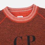 Мужская толстовка C.P. Company Felpa Crew Neck Red фото- 1