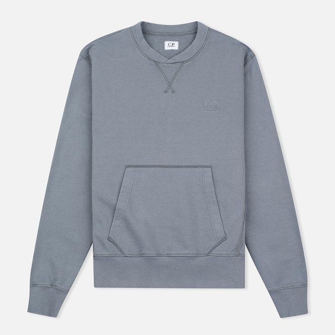 Мужская толстовка C.P. Company Felpa Girocollo Hood Grey