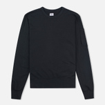 C.P. Company Felpa Girocollo Tinto Men's Sweatshirt Black photo- 0