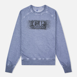 C.P. Company Felpa Girocollo Men's Sweatshirt Violet Blue photo- 0