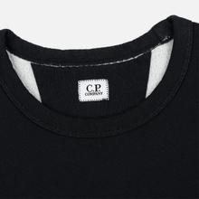 Мужская толстовка C.P. Company Fleece Crew Neck Logo Black фото- 1