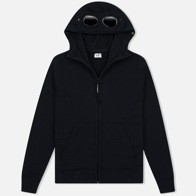 Мужская толстовка C.P. Company Fleece Goggle Zip Hoody Black