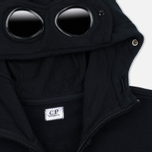 Мужская толстовка C.P. Company Fleece Goggle Zip Hoody Black фото- 1