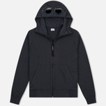 Мужская толстовка C.P. Company Fleece Goggle Zip Hoody Grey фото- 0