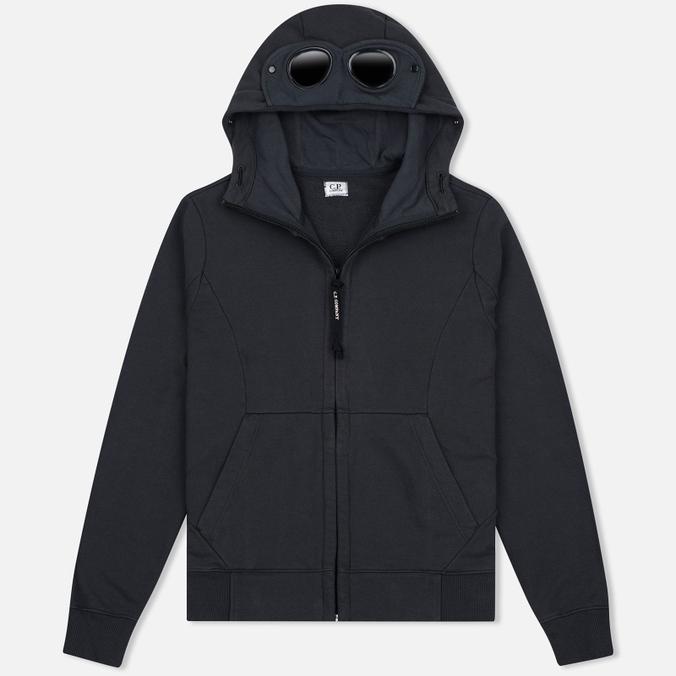 Мужская толстовка C.P. Company Fleece Goggle Zip Hoody Grey