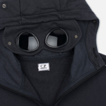 Мужская толстовка C.P. Company Fleece Goggle Zip Hoody Grey фото- 4