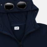 Мужская толстовка C.P. Company Fleece Goggle Zip Hoody Mare Egeo фото- 1