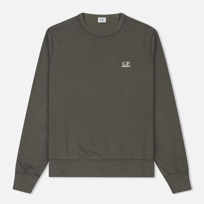 Мужская толстовка C.P. Company Front Mini Logo Dark Fog Grey