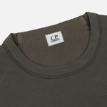Мужская толстовка C.P. Company Front Mini Logo Dark Fog Grey фото- 1