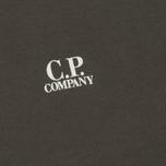 Мужская толстовка C.P. Company Front Mini Logo Dark Fog Grey фото- 2