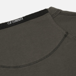 Мужская толстовка C.P. Company Front Mini Logo Dark Fog Grey фото- 4