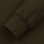 Мужская толстовка C.P. Company Front Mini Logo Dark Olive фото- 3