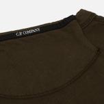 Мужская толстовка C.P. Company Front Mini Logo Dark Olive фото- 4