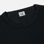 Мужская толстовка C.P. Company Front Mini Logo Total Eclipse фото- 1