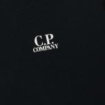 Мужская толстовка C.P. Company Front Mini Logo Total Eclipse фото- 2