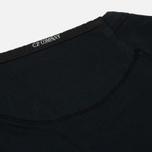 Мужская толстовка C.P. Company Front Mini Logo Total Eclipse фото- 4