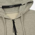 Мужская толстовка C.P. Company GD Light Fleece Lens Zip Hoodie Grey Melange фото- 1