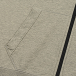 Мужская толстовка C.P. Company GD Light Fleece Lens Zip Hoodie Grey Melange фото- 2