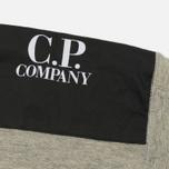 Мужская толстовка C.P. Company GD Light Fleece Lens Zip Hoodie Grey Melange фото- 5