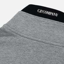 Мужская толстовка C.P. Company Half-Zip Lens Pocket Grey Melange фото- 5