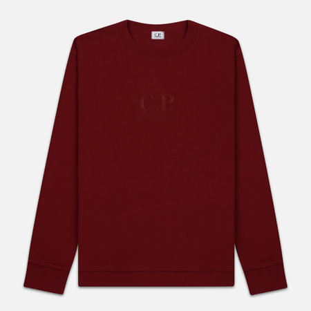 Мужская толстовка C.P. Company Heavyweight Logo Crew Neck Scooter