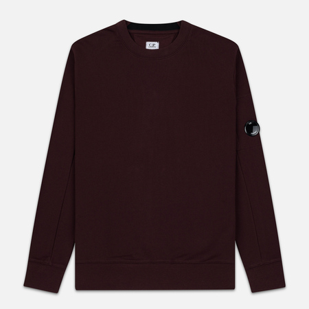 Мужская толстовка C.P. Company Light Fleece Arm Lens Crew Neck Bitter Chocolate